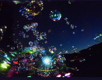 シャボン玉✨(2020/09/04 11:21)麻生 あかねのブログ画像