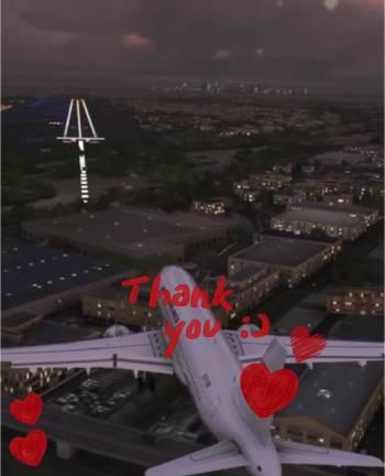 landing approach@ゆみ(2021/09/22 14:03)大橋 ゆみのブログ画像