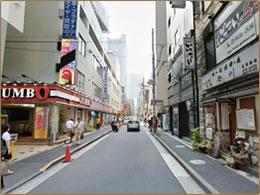 「ホテルマイステイズ五反田駅前」右側道のイメージ